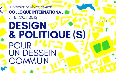Colloque international Design et politique(s)