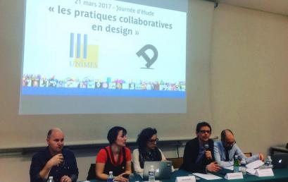 Journée d'étude «Les pratiques collaboratives en design » le 21 mars 2017 avec l'AFD