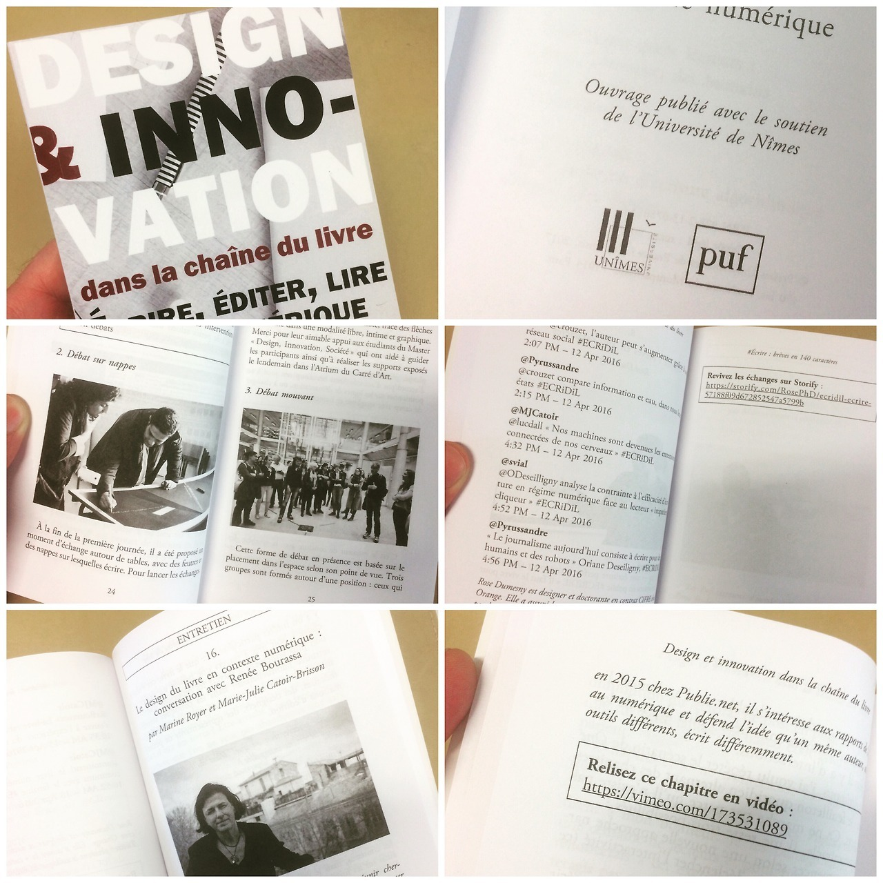 Parution de l'ouvrage «Design et innovation dans la chaîne du livre» aux PUF