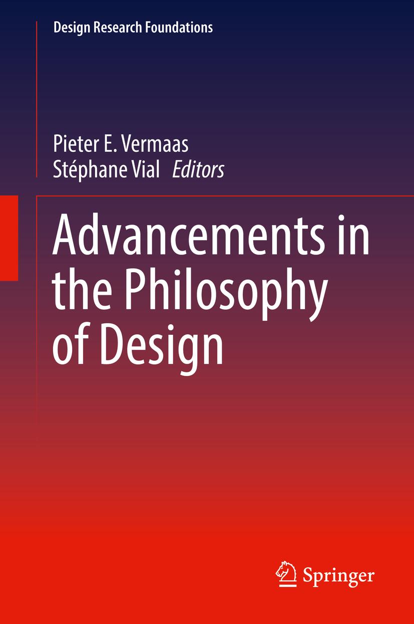 Parution de l'ouvrage collectif international «Advancements in the Philosophy of Design»