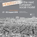 Conférence : Projekt participe au European Network of Housing Research du 27 au 30 août 2019
