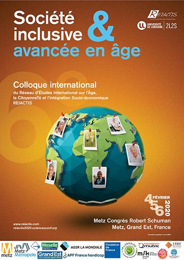 Colloque international REIACTIS 'Société inclusive et avancée en âge'