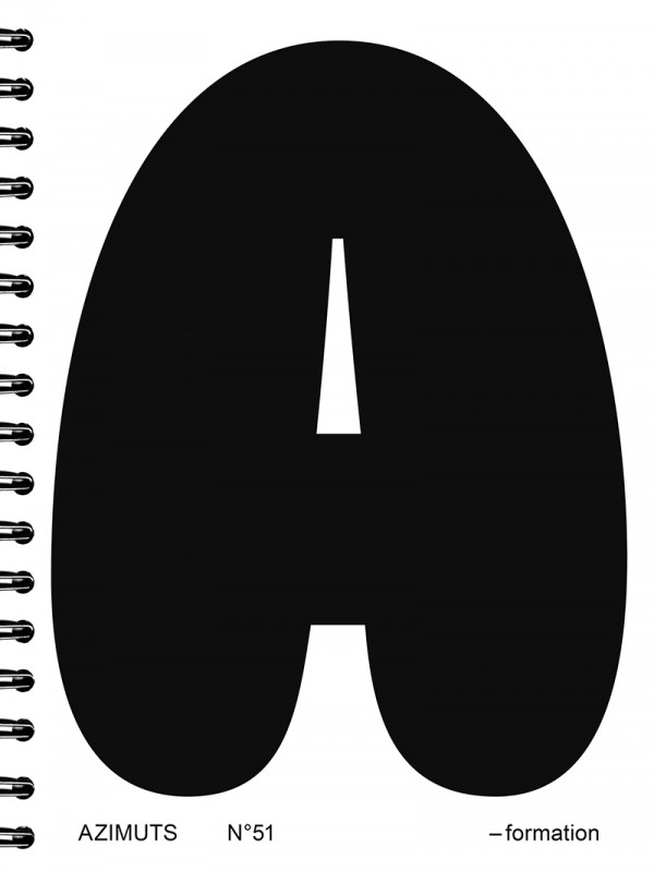 Publication dans Azimuts #51 Formation
