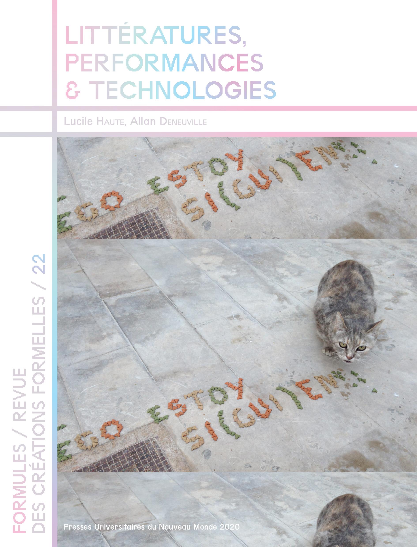 Littératures, performances et technologies